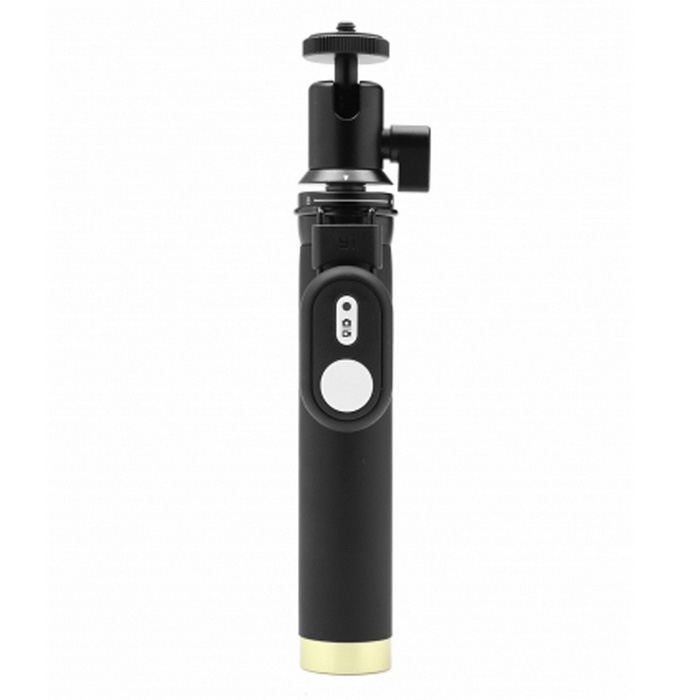 Xiaomi Yi Monopod + Bluetooth Remote Controller - BlackTripods and Holders<br>Form ColorBlackModelLYZPG01XYMaterialAluminum AlloyQuantity1 DX.PCM.Model.AttributeModel.UnitRetractableYesFolded Size18.2 DX.PCM.Model.AttributeModel.UnitFull Size 71 DX.PCM.Model.AttributeModel.UnitMax.Load20 DX.PCM.Model.AttributeModel.UnitPacking List1 x Monopod1 x Remote Controller<br>