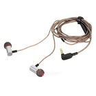 KZ ED9 universell 3,5 mm plugg in-ear hörlurar - silver + svart