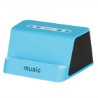 X5 Wireless Bluetooth Stereo Rechargeable NFC / TF Speaker - Blue