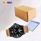 SKMEI Waterproof Montre Homme w / Calendrier - Brown + noir (1 * SR626SW)