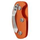 Outdoor Aluminum Alloy Lightweight Key Holder w/ Clip - Orange