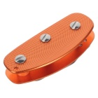 FURA Outdoor Aluminum Alloy Lightweight Key Holder w/ Clip - Orange