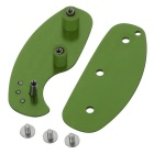 FURA Outdoor Aluminum Alloy Lightweight Key Holder - Army Green