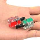 Mini fendue et Phillips Set - Rouge + Vert + Transparent