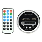 "1.3"" LCD 5V Round Digital Audio MP3 Player Module - Black"