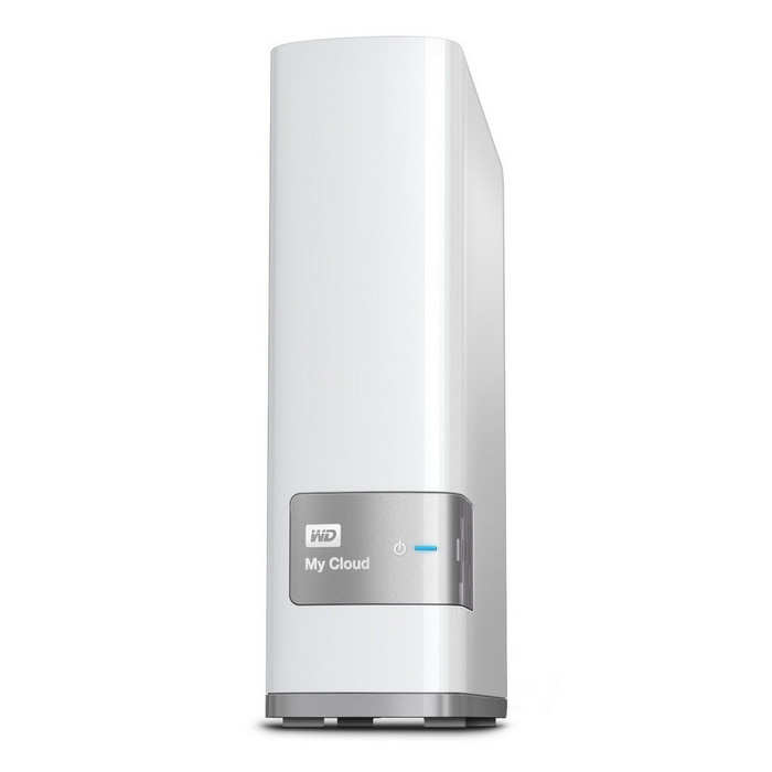 WD 4TB My Cloud Personal Network Attached Storage - NAS -WDBCTL0040HWT