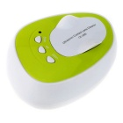 Miniature Ultrasonic Contact Lenses Cleaning Machine - White + Green