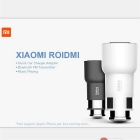 Xiaomi Roidmi Bluetooth 2-USB Car Charger Receptor Hi-Fi - Blanco