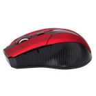 E26 Comfortable Touch 2.4G Wireless Optical Mouse - Vermelho