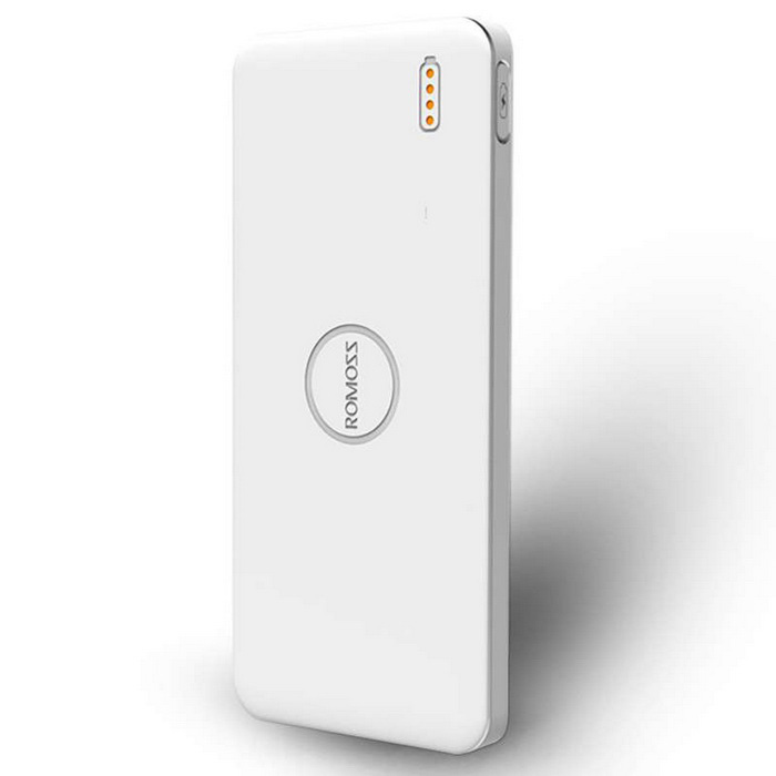 ROMOSS Polymos 5 5000mAh Carregador Externo Power Bank - Branco
