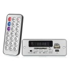 M409 12V Digital Audio MP3 Player Module w/ FM & USB - Silver + Green