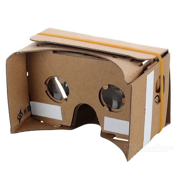 DIY Cardboard VR 3D Glasses�?Great for DIY Lovers