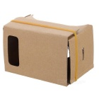 Memo Memo-1 Virtual Reality Cardboard 3D Glasses - Yellow (S)