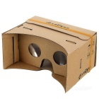 Memo Memo-da Virtual Reality Cardboard VR 3D Glasses - Yellow