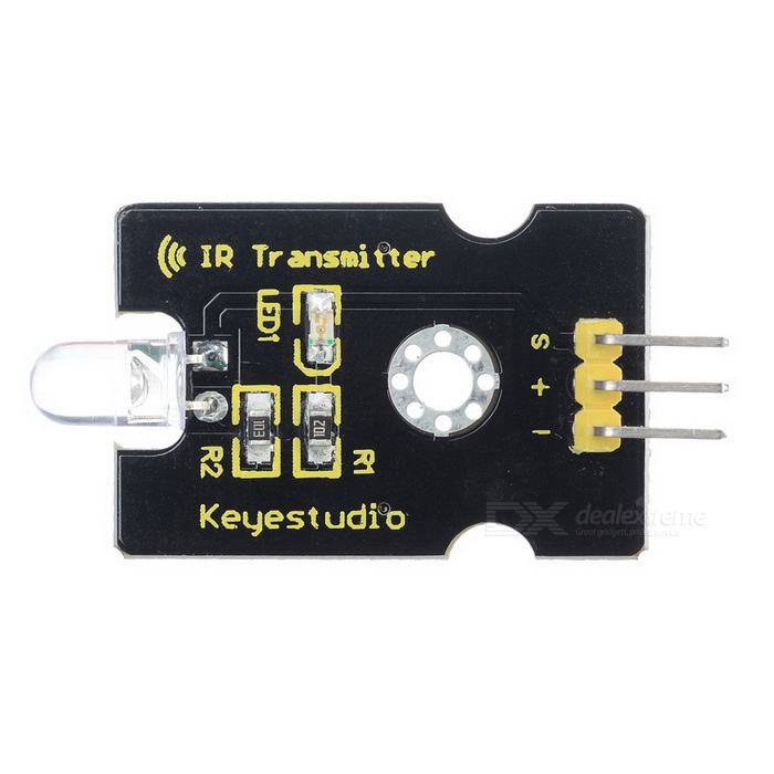 Keyestudio TS-17 Digital IR Transmitter Module for Arduino - Black