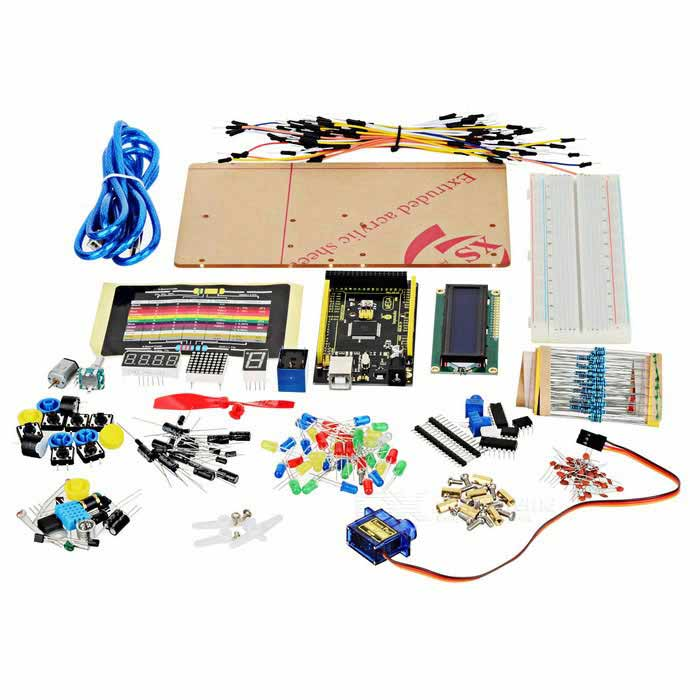 Keyestudio TS-14 Maker Learning Kit med 2560 R3 för Arduino Starter
