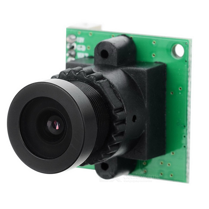 NTSC HD Mini Vigilância FPV Camera - Black