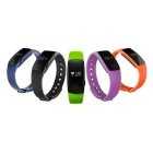 ZS107 Green Light LED Bluetooth V4.0 Smart Bracelet - Orange