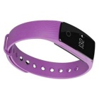 ZS107 Green Light LED Bluetooth V4.0 Smart Bracelet - Purple