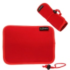 Hugmania Multi-Function Digital Accessories Storage Bag - Red + Black