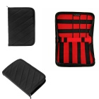 Hugmania Outdoor Travel Portable Storage Bag - Red + Black