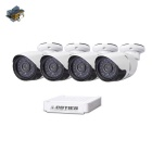 Cotier N4B-Mini/L Kits 4CH Mini NVR 1080P P2P HD IP Camera Kit - White