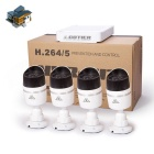 Kit Camera cotier N4B-Mini / L Kits 4CH Mini NVR 1080P P2P IP HD - Branco