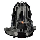 Outdoor Hiking Camping Daypack Backpack - Black (40L)
