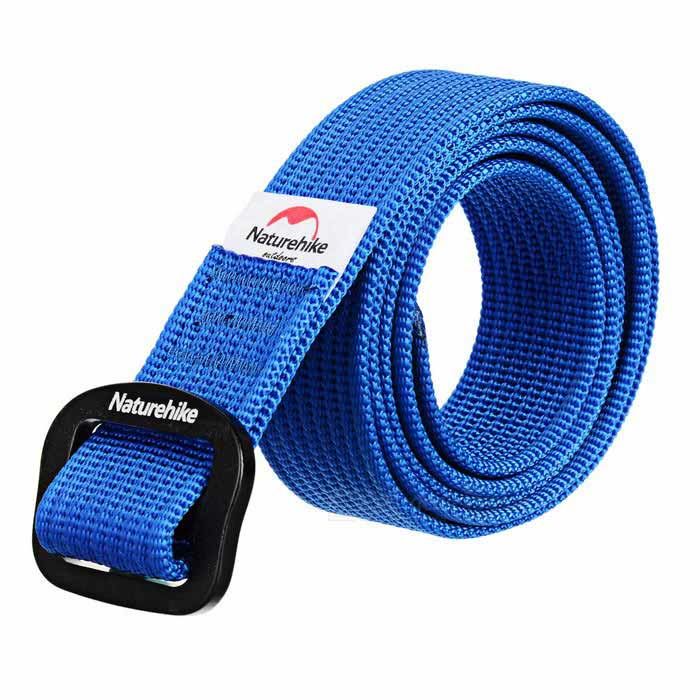 NatureHike Quick-Dry Nylon Belt - Blue (M / 114.2cm)Other Accessories<br>Form ColorBlueQuantity1 DX.PCM.Model.AttributeModel.UnitMaterial100D nylon + 6061 aluminum alloy buckleSizeMBand Length114.2 DX.PCM.Model.AttributeModel.UnitPacking List1 x Belt<br>