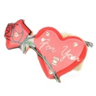 Electric Luminous Heart Rose rintaneula - Red (25 PCS)