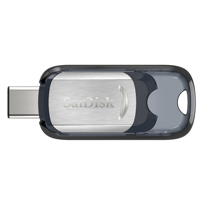 SanDisk Ultra USB Type-CTM 64GB Flash Drive (SDCZ450-064G) - Grey