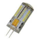 G4 3W 250lm 57-SMD 3014 LED Cool White Light Bulb (AC/DC 12V / 8PCS)