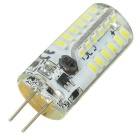 G4 5W Cold White Light LED Bulb - White + Yellow (AC / DC 12V)