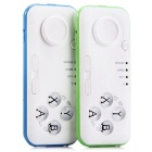Multifunction Bluetooth Selfie Remote Control Shutter Joystick - Blue