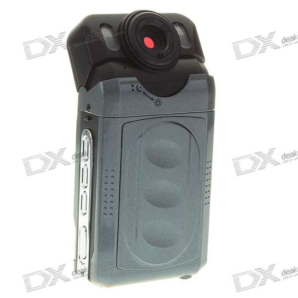 "2.0"" TFT LCD 5MP CMOS Waterproof Digital Camera Camcorder with 4X Digital Zoom/SD Card Slot"
