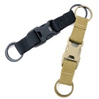 Outdoor Multi-Function Bag Accessories 3-Ring Buckle - Army Green