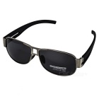 UV Protective Fashionable Polarized TAC Metal Frame Sunglasses for Men