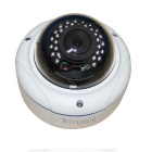 HOSAFE X2MD1AFW ONVIF POE 2MP koepel IP camera-Wit (EU Plug)