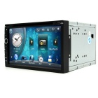 "Junsun 6.95"" Car Radio DVD Player w/ RDS, GPS, Bluetooth - Black"