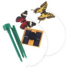 Pretty Solar Powered Fluttering Butterfly No Battery Needed