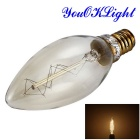 YouOKLight YK0837 25W Tungsten Filament Bulb - Transparent (AC 220V)