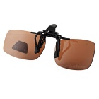 UV400 Protection Sunglasses Polarized Lenses - Black + Tawny (S)