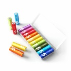 Xiaomi ZMI ZI5 Rainbow Alkaline LR6 AA Battery - Multi-Colored (10PCS)