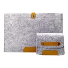 "Laptop Bag / Protective Sleeve for 13/13.3"" Macbook Air/Pro - Grey"