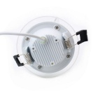 ZHISHUNJIA 6W Dimmable Warm White + White LED com controle remoto