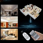 ZHISHUNJIA 6W Dimmable Warm White + White LED Bulb w/ Remote Control