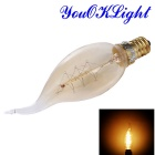 YouOKLight E14 25W Tungsten Filament Bulb - Transparent (AC 220V)