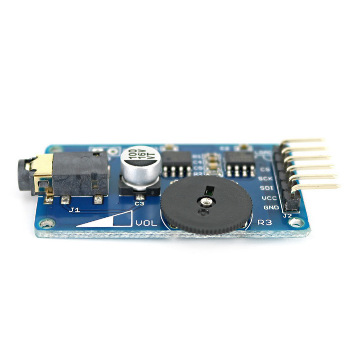 Open smart wav music player voice broadcast module for