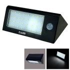 5.5V 2.2W 32-LED Solar Power PIR Motion Sensor Light - White + Black