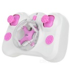Cheerson CX-Stars Mini 2.4 de 4 canales 6 Axis Gyro RC Quadcopter - rosa + blanco